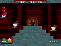 addams family kitchen level on snes