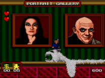 addams family portrait gallery on snes