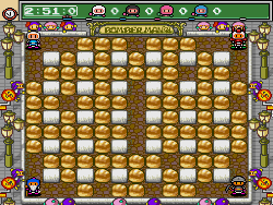 mega bomberman on pc-engine