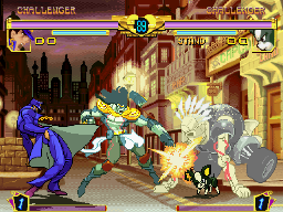 JoJo's Bizarre Adventure on Dreamcast