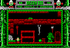 fantasy world dizzy dungeon on amstrad