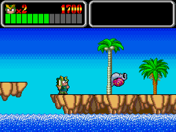 Wonder Boy Monster Lair on Turbografx CD