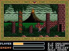 ys forest level on megadrive