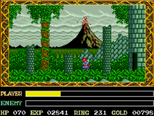 ys forest level on pc-engine