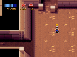zombies pyramid level on snes