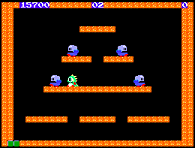 Bubble bobble nes level 57 celebrity