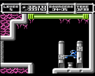 cybernoid level end on nes