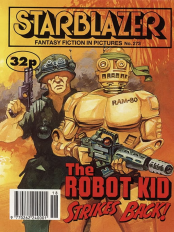 starblazer 273 robot kid strikes back