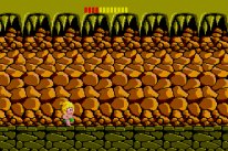adventure island cave level on master system