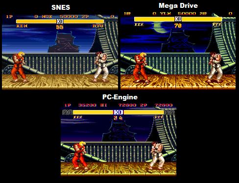 Street Fighter II Comparison: SNES Vs Genesis Vs TG-16