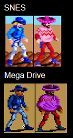 Sunset Riders Comparison: SNES Vs Genesis