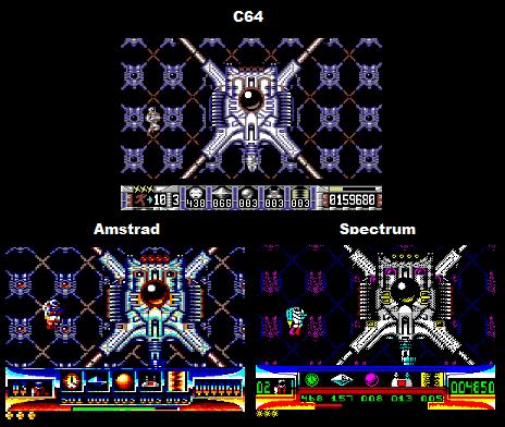Turrican Comparison: C64 Vs Spectrum Vs Amstrad